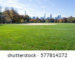 The Great Lawn In Central Park...