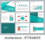 presentation background design...   Shutterstock .eps vector #577818055