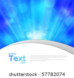colorful glowing vector... | Shutterstock .eps vector #57782074
