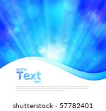 colorful glowing vector... | Shutterstock .eps vector #57782401