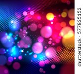 bright colorful abstract... | Shutterstock . vector #577835152