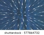 abstract blue background.... | Shutterstock . vector #577864732