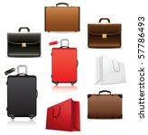 bags. vector | Shutterstock .eps vector #57786493