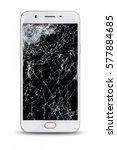 modern touch screen smartphone... | Shutterstock . vector #577884685
