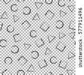 black and white grunge...   Shutterstock .eps vector #577911496