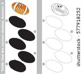 Ball For American Football Wit...