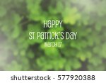 blurred background of green... | Shutterstock . vector #577920388
