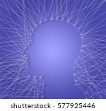 illustration cover. abstract... | Shutterstock . vector #577925446