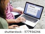 glossary text document... | Shutterstock . vector #577936246
