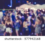 festival event party outdoor... | Shutterstock . vector #577942168