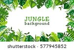 jungle vector background | Shutterstock .eps vector #577945852