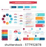 infographic element set. bar...   Shutterstock .eps vector #577952878