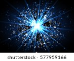 vector abstract explosion... | Shutterstock .eps vector #577959166
