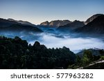 Landscape With Fog On The...