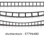 film strip background collection | Shutterstock .eps vector #57796480