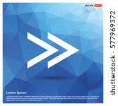 next arrow icon | Shutterstock .eps vector #577969372