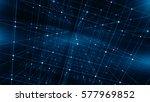 concept of network  internet... | Shutterstock . vector #577969852