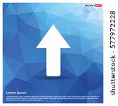 upper arrow icon | Shutterstock .eps vector #577972228