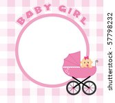 baby frame for text or photo | Shutterstock .eps vector #57798232