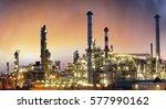 industry  oil petrochemical... | Shutterstock . vector #577990162