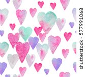 seamless watercolor pattern...   Shutterstock . vector #577991068