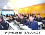 blur business people... | Shutterstock . vector #578009116