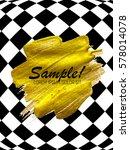 abstract paint glittering...   Shutterstock .eps vector #578014078