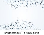structure molecule and...   Shutterstock .eps vector #578015545