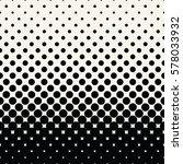 circles halftone seamless... | Shutterstock .eps vector #578033932