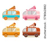 a set of vans on sale and... | Shutterstock .eps vector #578062882