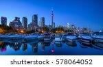 marina quay west  ontario ... | Shutterstock . vector #578064052