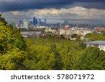 canary wharfe   central london...   Shutterstock . vector #578071972
