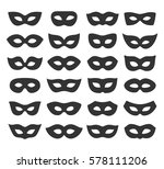 set collection of black... | Shutterstock .eps vector #578111206