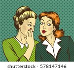 pop art retro comic... | Shutterstock . vector #578147146