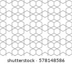 islamic geometric seamless... | Shutterstock .eps vector #578148586