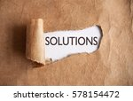 uncovering solutions | Shutterstock . vector #578154472