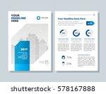 annual report  broshure  flyer  ... | Shutterstock .eps vector #578167888