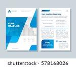 annual report  broshure  flyer  ... | Shutterstock .eps vector #578168026