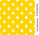 seamless pattern chick   vector ... | Shutterstock .eps vector #578185996
