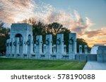 world war ii memorial ... | Shutterstock . vector #578190088