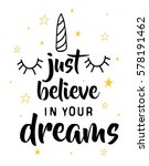 Just Believe In Your Dreams...