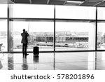man  businessman guy or tourist ... | Shutterstock . vector #578201896