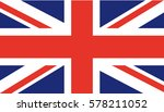 uk flag | Shutterstock .eps vector #578211052