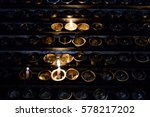 candle | Shutterstock . vector #578217202