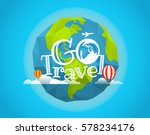 travel vector illustration. go... | Shutterstock .eps vector #578234176