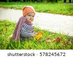 family in the fall | Shutterstock . vector #578245672
