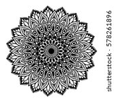 mandalas for coloring book.... | Shutterstock .eps vector #578261896