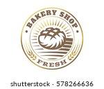 bread logo   vector...   Shutterstock .eps vector #578266636