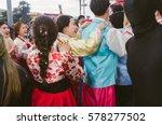 viareggio italy feb.12.  first... | Shutterstock . vector #578277502