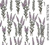 vector seamless pattern with... | Shutterstock .eps vector #578278726